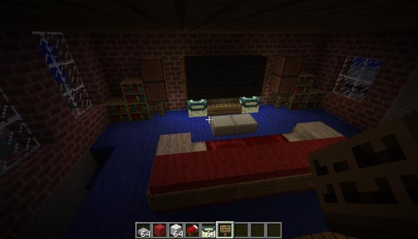 Int rieur de maison 3 minercraft - Minecraft interieur maison ...